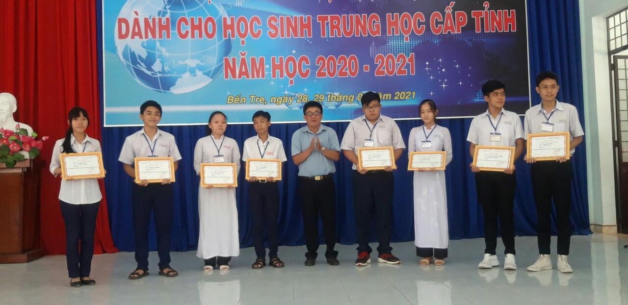 Cuộc thi Nghiên cứu khoa học kỹ thuật - cấp Tỉnh - Năm học: 2020 - 2021